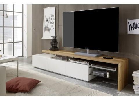 Meuble TV design en bois massif
