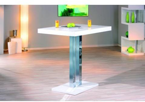 Table de bar design blanc