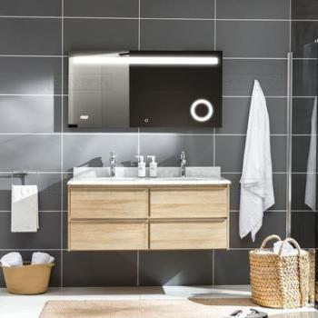 Meubles salle de bain double