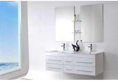 Meuble salle de bain SAM blanc