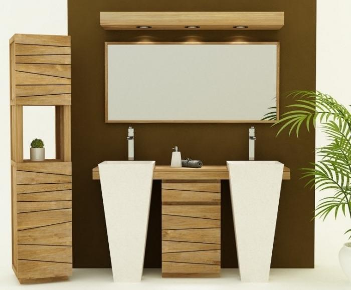 Meuble de salle de bain salerne