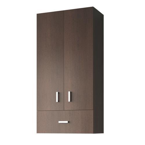 Geuther cwilma wenge meuble langer for Meuble salle de bain 2 portes 1 tiroir