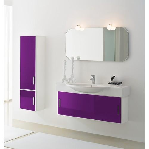 Recherche tiroir du guide et comparateur d 39 achat for Meuble salle de bain violet