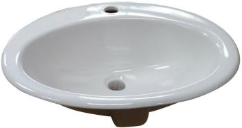 Vasque en Porcelaine ovale