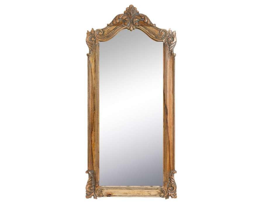 Recherche ancien du guide et comparateur d 39 achat for Grand miroir bois