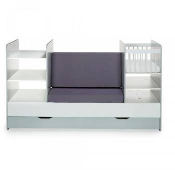 babybay berceau lit cododo maxi bois clair satin. Black Bedroom Furniture Sets. Home Design Ideas