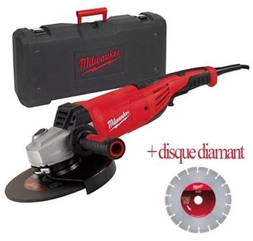 Milwaukee meuleuse 230mm 2200w