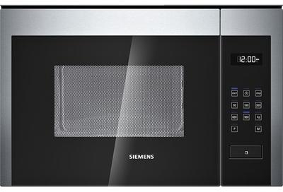 siemens micro ondes encastrable 25l 900w inox hf24m564. Black Bedroom Furniture Sets. Home Design Ideas