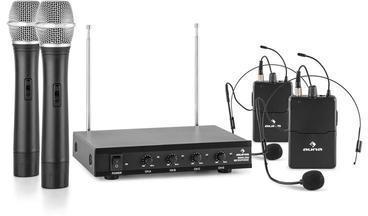 Auna VHF-4-H-HS Système sans