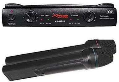 Micro Vhf 2 mains Xs-mp3 Xsound