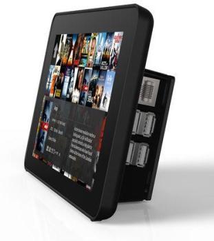 Boitier noir pour écran tactile