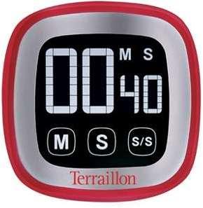 Minuteur LCD rouge Terraillon