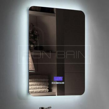 miroir salle de bain bluetooth. Black Bedroom Furniture Sets. Home Design Ideas