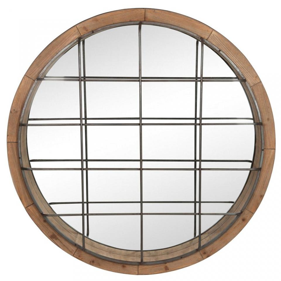 Catgorie miroir page 15 du guide et comparateur d 39 achat for Miroir rond bois