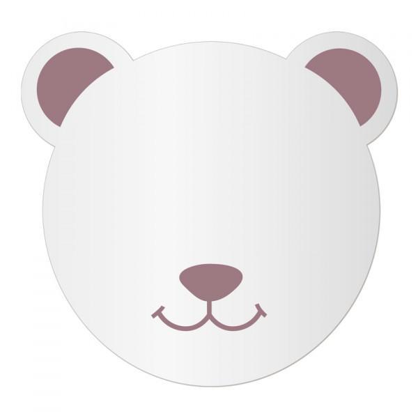 Miroir enfant Tête Ours