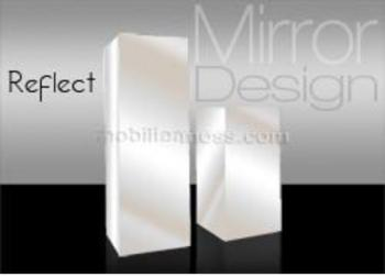 Socle en miroir design - Reflect