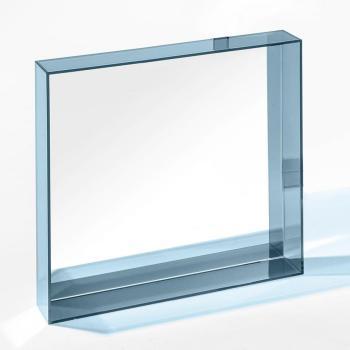 Only Me Mirror 50x50 - bleu
