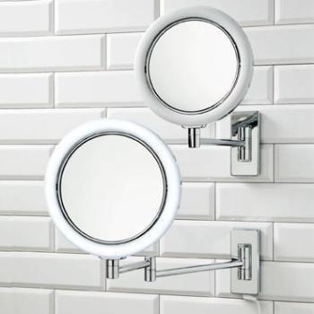 BS 13 - Miroir mural - chrome