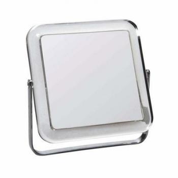 Miroir carré de rasage à poser