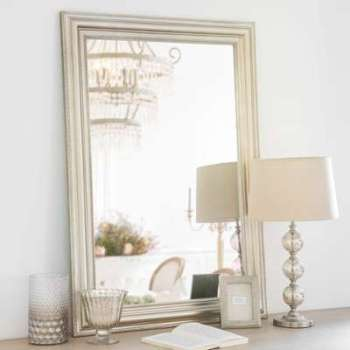 Miroir en aluminium doré 70x100