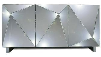 Bahut miroir 3 portes design
