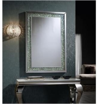 Miroir Design Strass Maya