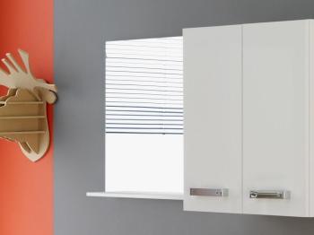 Miroir SYDNEY blanc brillant