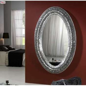 Miroir Design G ant Argent