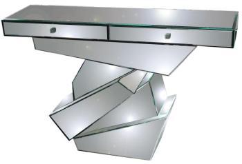 Console 2 tiroirs Strate en