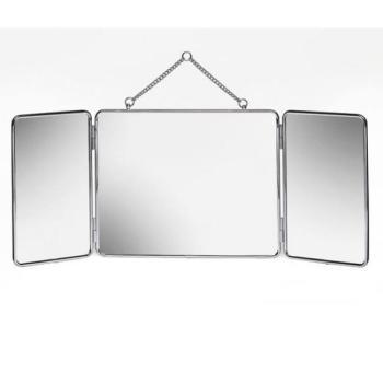 Miroir de rasage triptyque