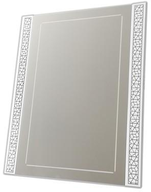 Miroir design blanc rectangulaire