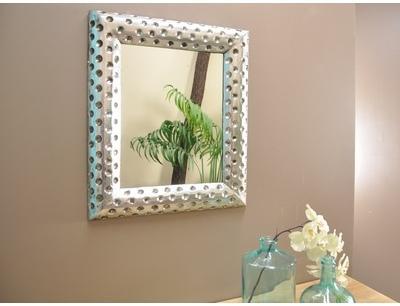 Miroir en bois Pampelune finition