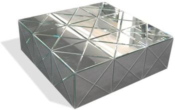 Table basse en miroir moderne