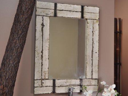 Miroir de salle de bain en