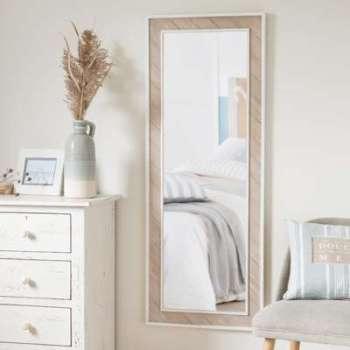 Miroir en paulownia 50x130