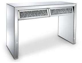 Console coiffeuse 2 tiroirs
