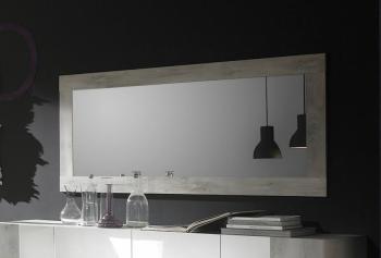 Miroir design bois rectangulaire