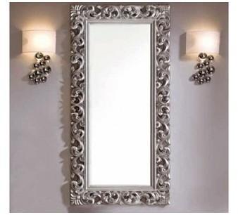 Miroir design argent Milady