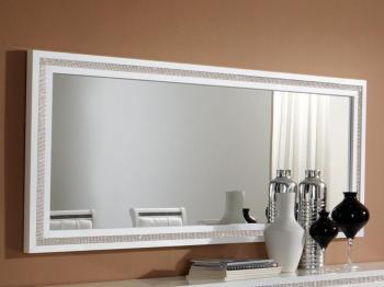 Miroir PERLA 190 cm blanc