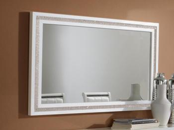 Miroir PERLA 143 cm blanc