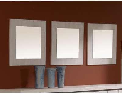 Lot de 3 miroirs HENRI chêne