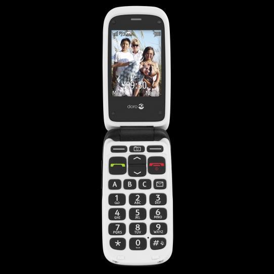 T l phone portable clapet doro phoneeasy 612 for Prix telephone seul