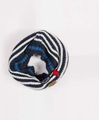 Snood tricot jacquard coney