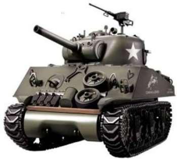 1 16 M4A3 Sherman Char Radiocommandé