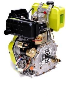 Moteur Diesel 10PS 418cc Démarrage