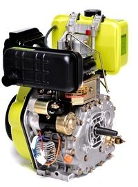 Moteur Diesel 14CV 456cc Démarrage