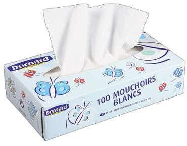 Mouchoirs Bernard 16 boîtes