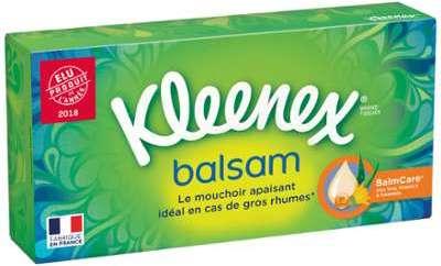 Mouchoirs Soins Balsam Kleenex