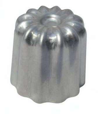 Moule cannelé 55 mm aluminium