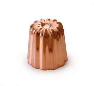 Moule à cannelé cuivre 6 cm